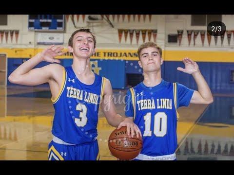 Zack Cauz Terra Linda High School Junior Year Basketball