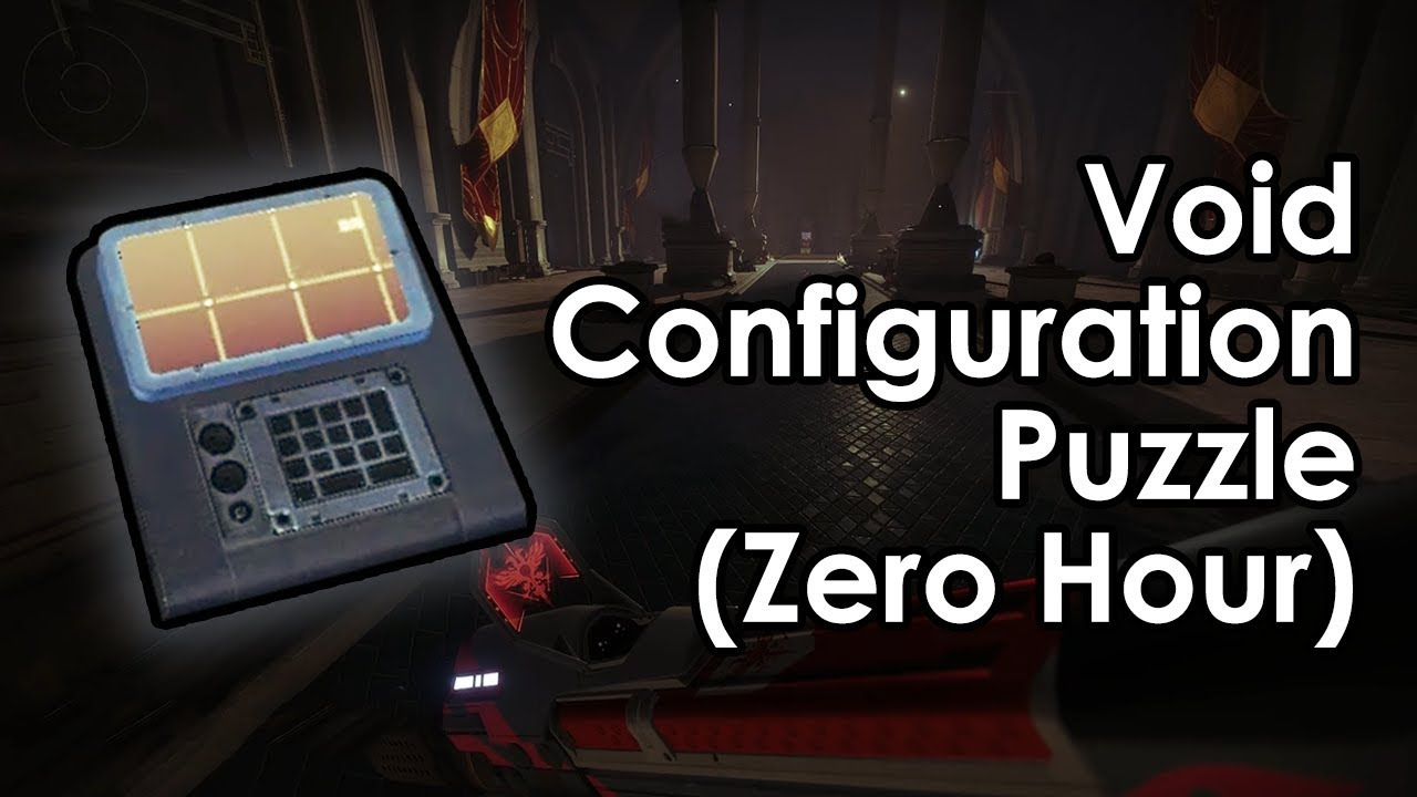 Destiny 2 The Void Configuration Puzzle Solution Zero Hour Heroic Youtube