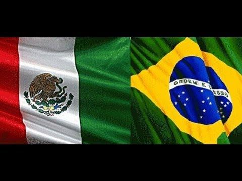 México 1 x 2 Brasil - Amistoso Internacional 11-10-2011 - Jogo Completo
