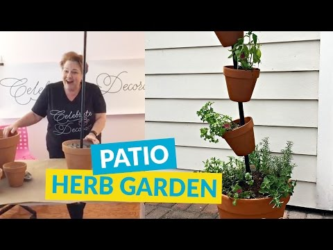 DIY Herb Garden For Your Patio!