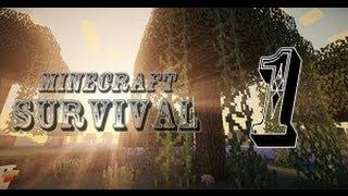 Minecraft CESUR Survival - Enes ile Baturay+Konuk(Mert) - Bölüm 1