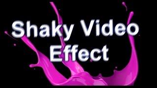 How to make screen shake in Sony Vegas