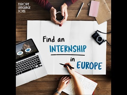 Find an internship abroad in Europe
