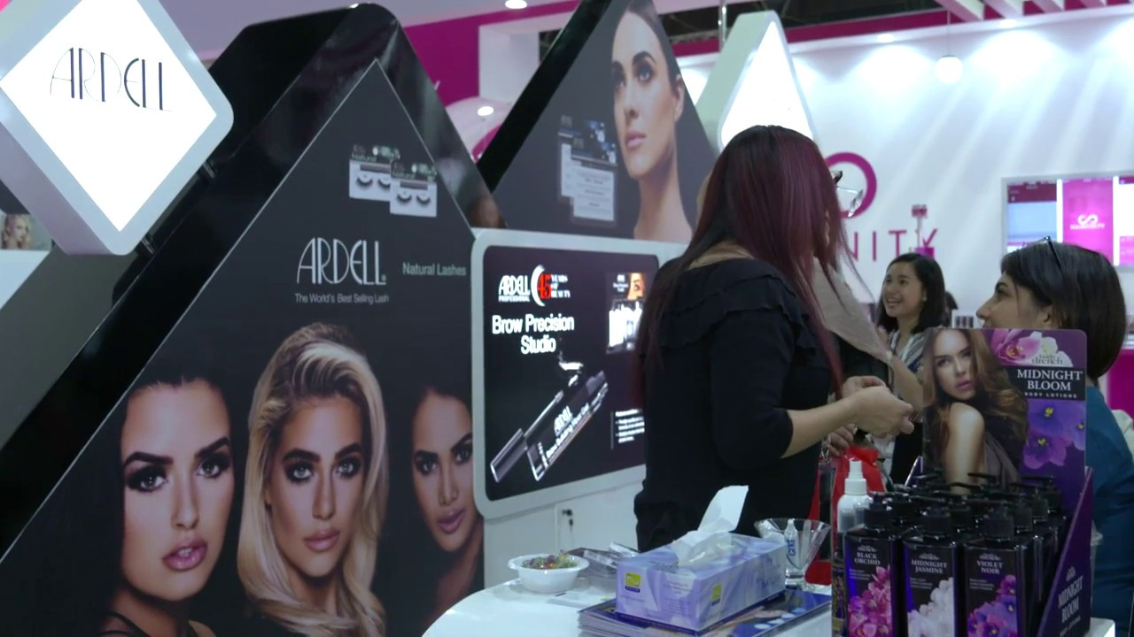 acbdf17982e ARDELL At Beauty World Middle East 2017! Nazih Cosmetics