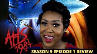 AHS 1984 Season 9 Episode 1 Review CAMP REDWOOD