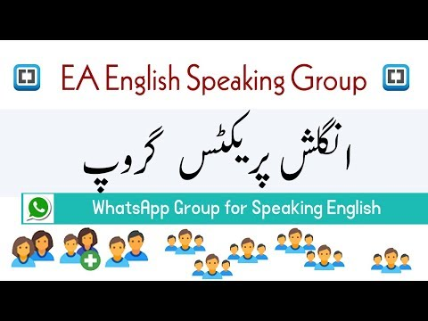 WhatsApp Group for Learning English to Practice Speaking by Ea