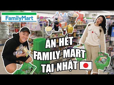 Ăn Hết Cửa Hàng Tiện Lợi Family Mart Tại Nhật   Family Mart Japan