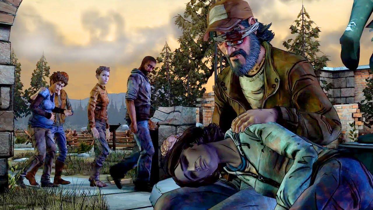 Kenny Kills Sarita (Walking Dead   Telltale Games)