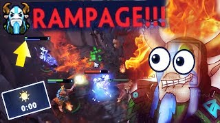 WHAT A GAME!!! 0 Min RAMPAGE 10 Min GG MOST Craziest Strat in Dota 2 History