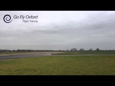 External View Of Santhosh's First Solo With Go Fly Oxford