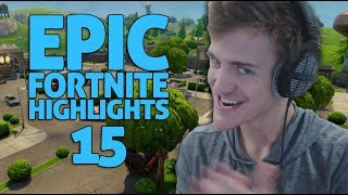 Ninja - Fortnite Battle Royale Highlights #15