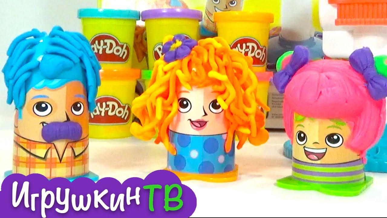 Набор для лепки кухня от Play-Doh pаспаковка - YouTube