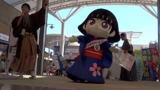 カムロちゃん(佐倉市)観光PRステージ