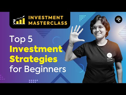 Top 5 Investment Strategies for Beginners | Investment Masterclass