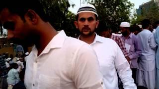 Eid prayer at Naif musalla, dubai