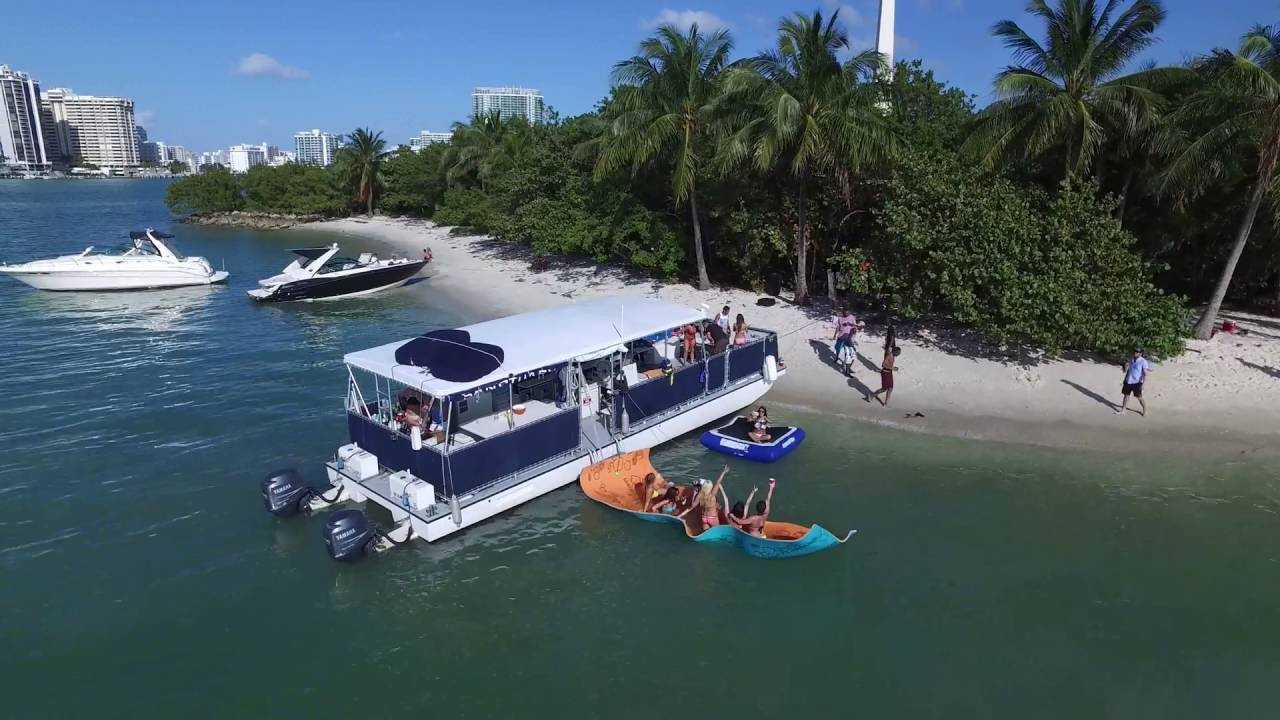 South Beach Party Boats Island Bbq Boat Party In Miami Florida
