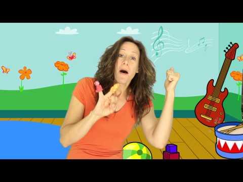 5 Little Monkeys Children's song (sung by Patty Shukla)