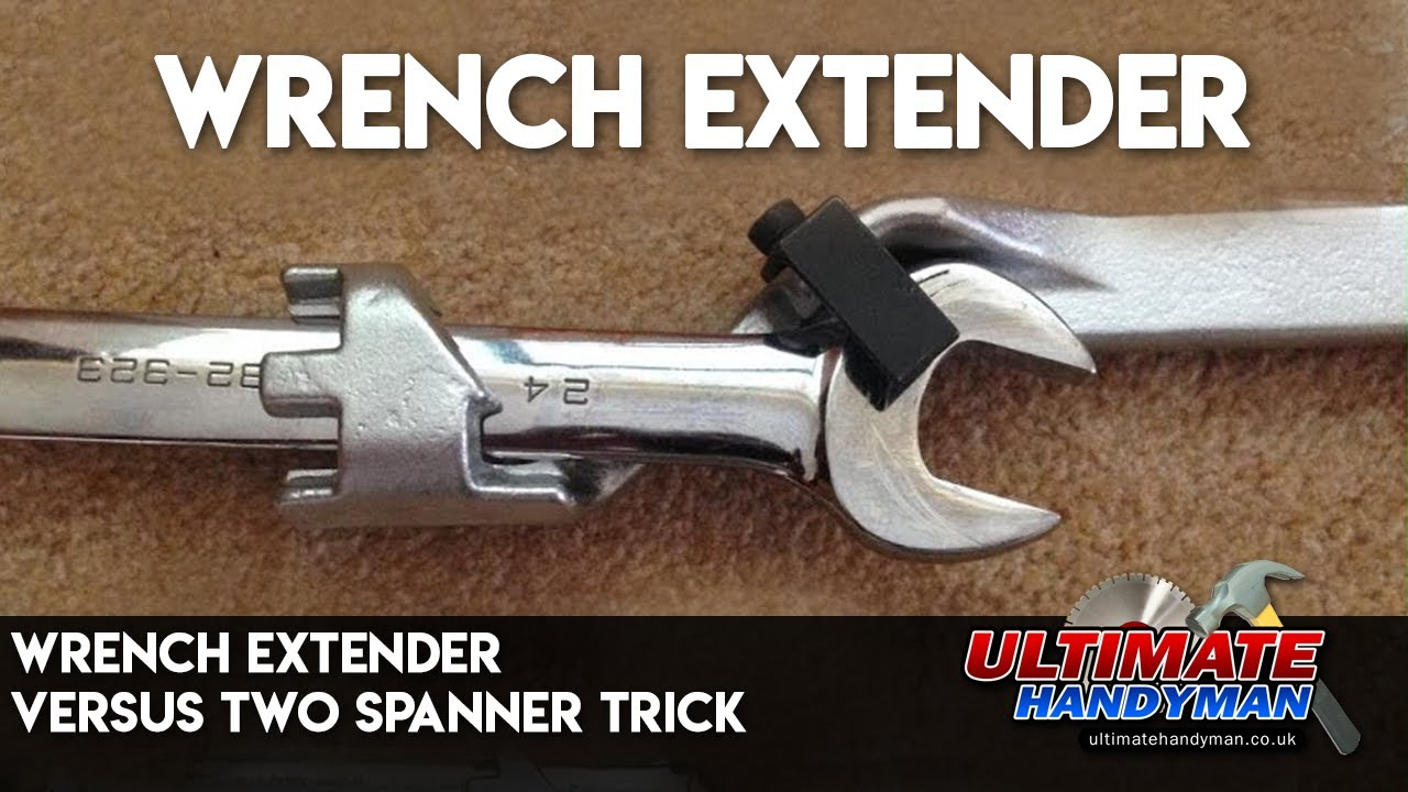 Wrench Extender Versus Two Spanner Trick Youtube