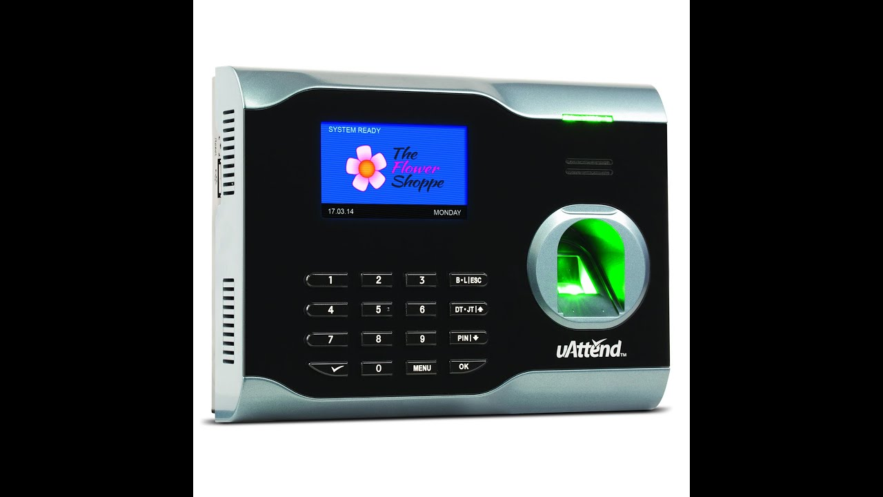 uAttend Finger Print Clocking On a BN6000 or BN6500 from Chronologic
