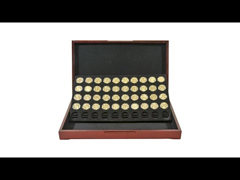 20072016 Uncirculated Presidential Dollars Set in Box