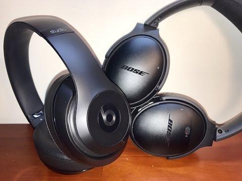 Beats Studio Wireless vs Bose QuietComfort 35 Headphones!! - REVIEW & COMPARISON