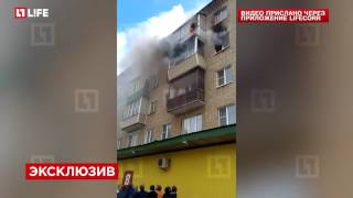 Во Владимирской области семья с детьми выпрыгнула из окна, спасаясь от огня