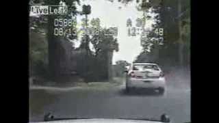 Police Chase In Arkansas Ends With Shooting [Dash Cam]