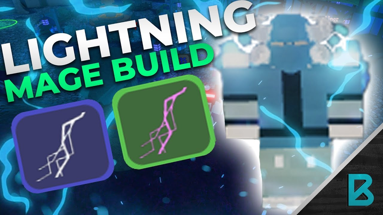 Roblox Dungeon Quest Mage Guide Overpowered Mage Build Full Lightning Mage Build Dungeon Quest Roblox Youtube