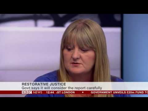 Mother and her son's Killer in a BBC interview on Restorative Justice
