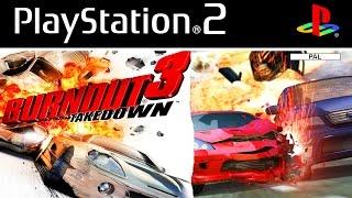BURNOUT 3 TAKEDOWN - O JOGO MAIS ÉPICO DE CARROS DO PS2!