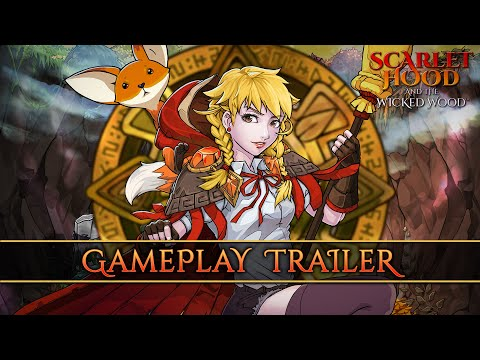 Scarlet Hood and the Wicked Wood - Gameplay Trailer