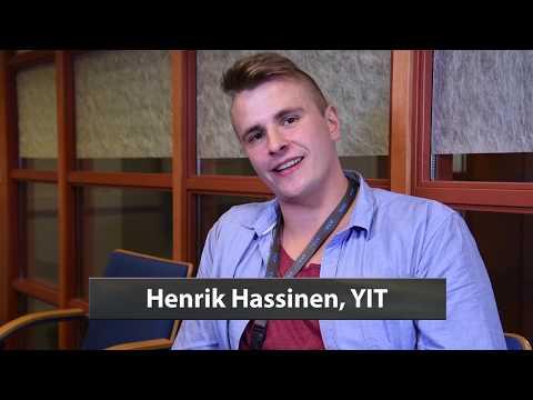 Harjoittelija Henrik Hassinen YIT