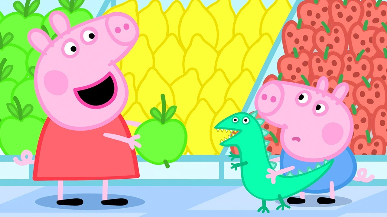 Peppa Pig Official Channel | Fruit