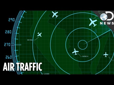 How Do We Monitor All The Planes In The Sky?