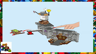lego instructions angry birds king pig s castle 75826