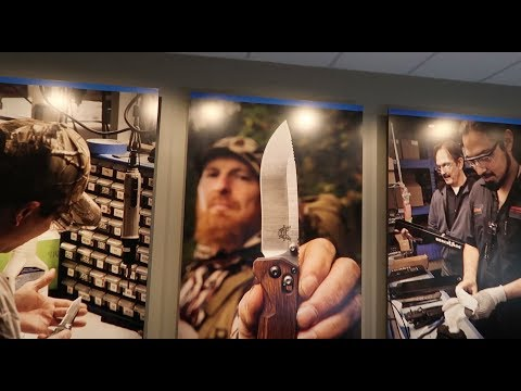 BEST HUNTING KNIFE TO CARRY IN YOUR PACK - BENCHMADE FACTORY TOUR