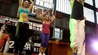 Zumba Master class with Hermann Melo in Ruse, Bulgaria