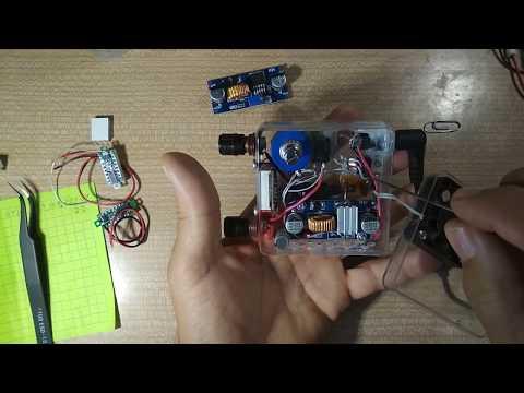 Миниатюрный настольный блок питания (ЛБП) 1,25 - 20 Вольт, 1,5 Ампера