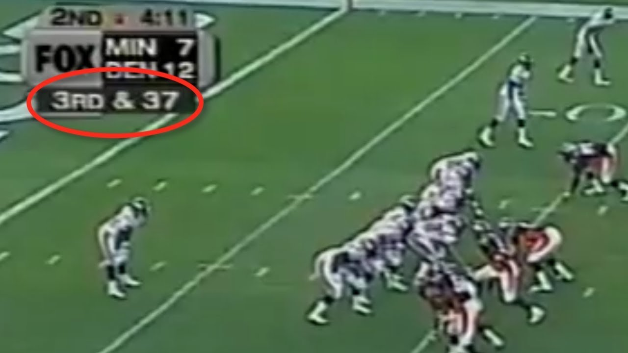 Longest 3rd Down Conversions in Football History