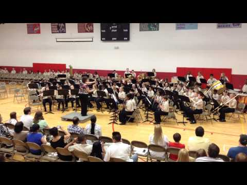 Espana Cani by Fischer Middle School band