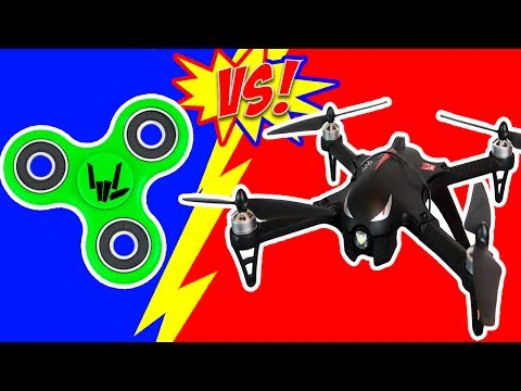Thumbnail: FIDGET SPINNER DRONE DROP TEST!!