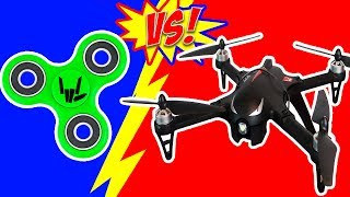 FIDGET SPINNER DRONE DROP TEST!!