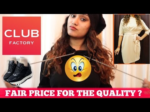 Online Shopping at || CLUB FACTORY || Fair price ??? reviewing what I received :/