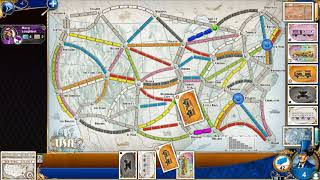 DGA Plays: Ticket To Ride (Ep. 4 - Gameplay / Let