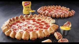 CarBS - Pizza Hut Hot Dog Bites Pizza
