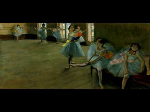 "Edgar Degas, ""Dancers in the Classroom,"" c. 1880"
