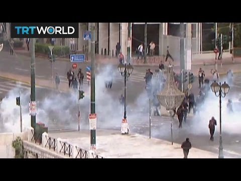 Athens Protest: Mass protests in Greece against austerity
