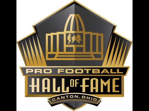 CANTON PRO FOOTBALL HALL OF FAME 2017 TRIP!!!!!!