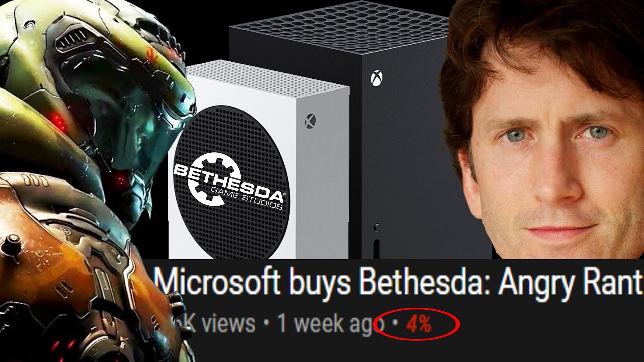 """Xbox & Bethesda are DOOMED! """"Microsoft Buys Bethesda out of Desperation & FAILS to Compete with PS5"""""""