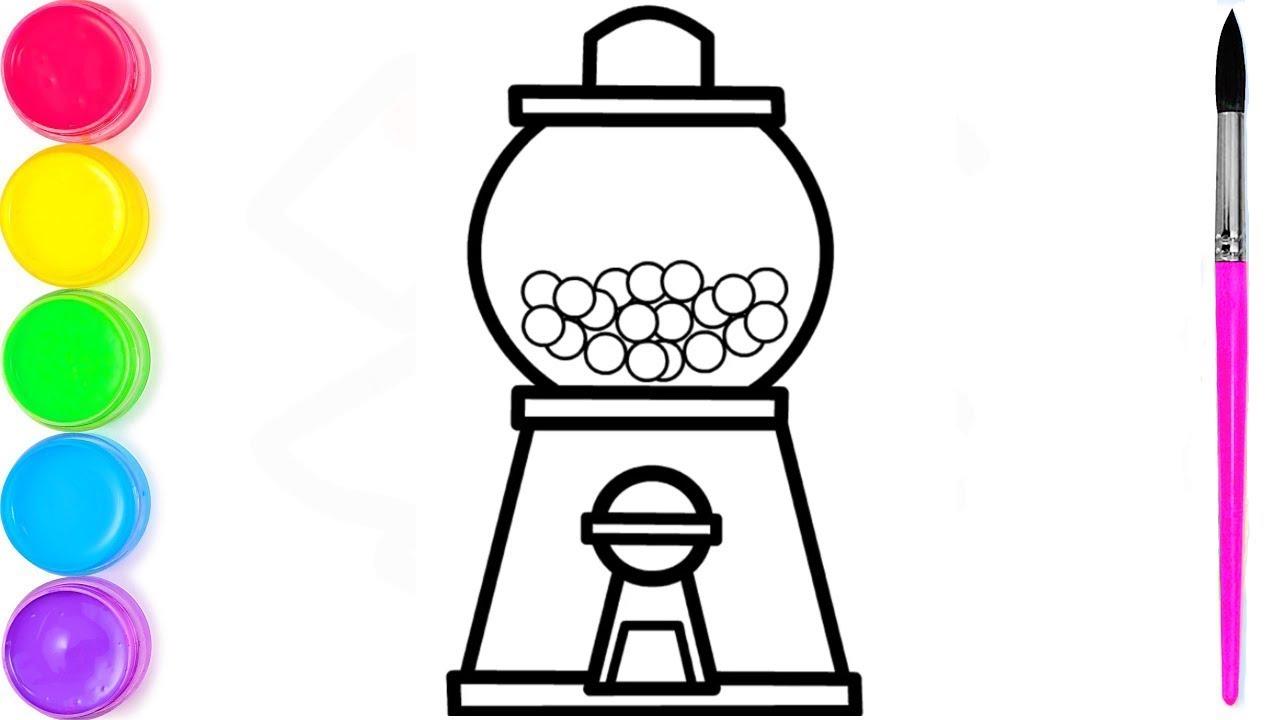 Как нарисовать конфетную машинку   я изучаю английский ...